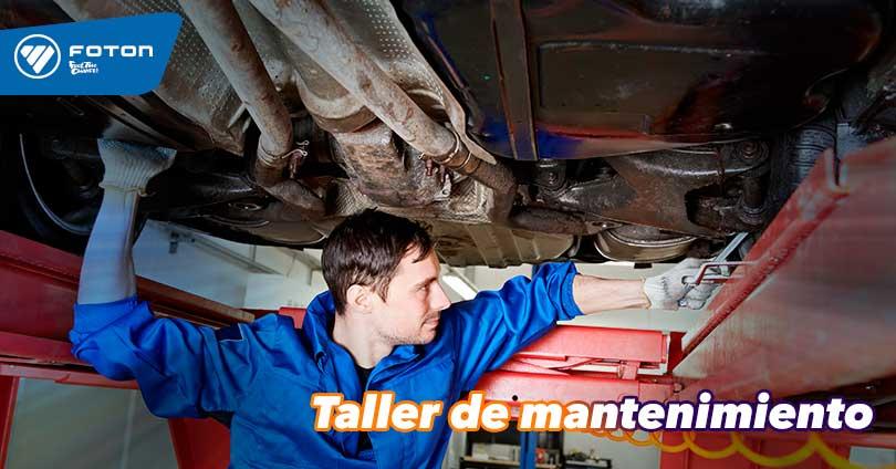 Taller FOTON - INCAPOWER. Teléfono: 719-2351 - Anx.351